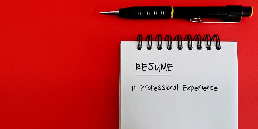 Part time job resume